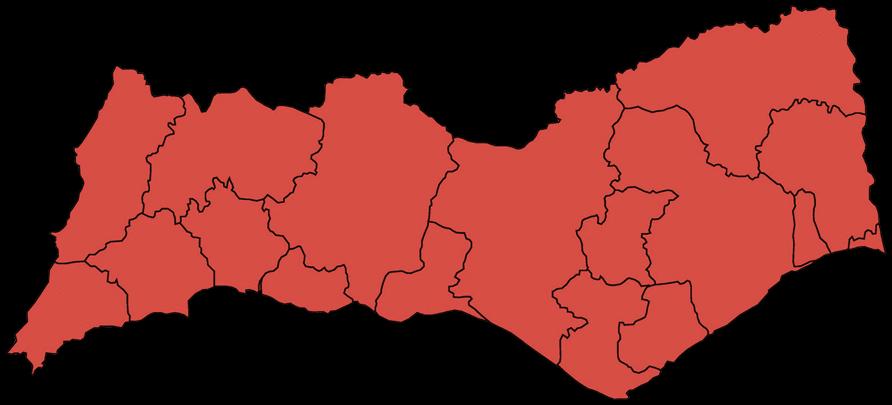 mapa concelhos algarve mapa faro   Desentupimentos Faro mapa concelhos algarve